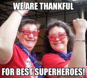 superheroes two