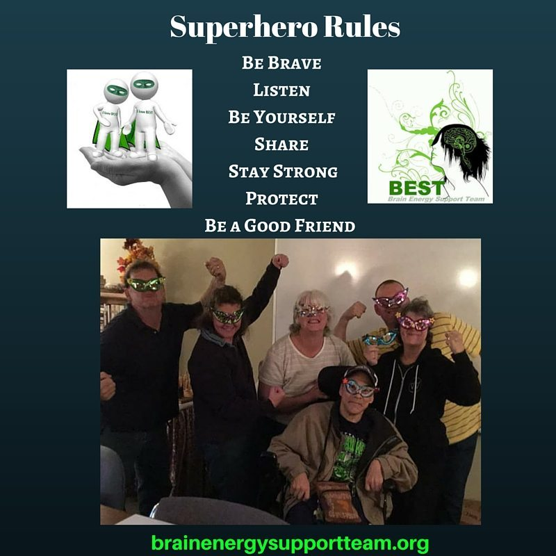 Superhero Rules Be Brave Listen Be Yourself Share Stay Strong Protect Be a Good Friend