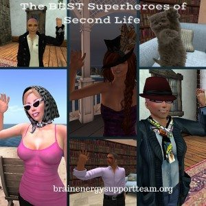 The BEST Superheroes of Second Lilfe