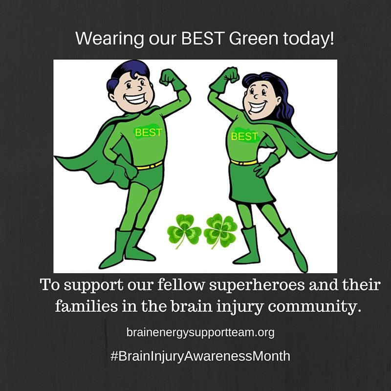 Wearing our BEST Green today! 1