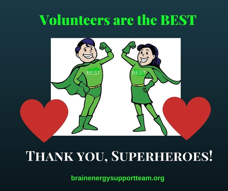 BEST Volunteer Thank You