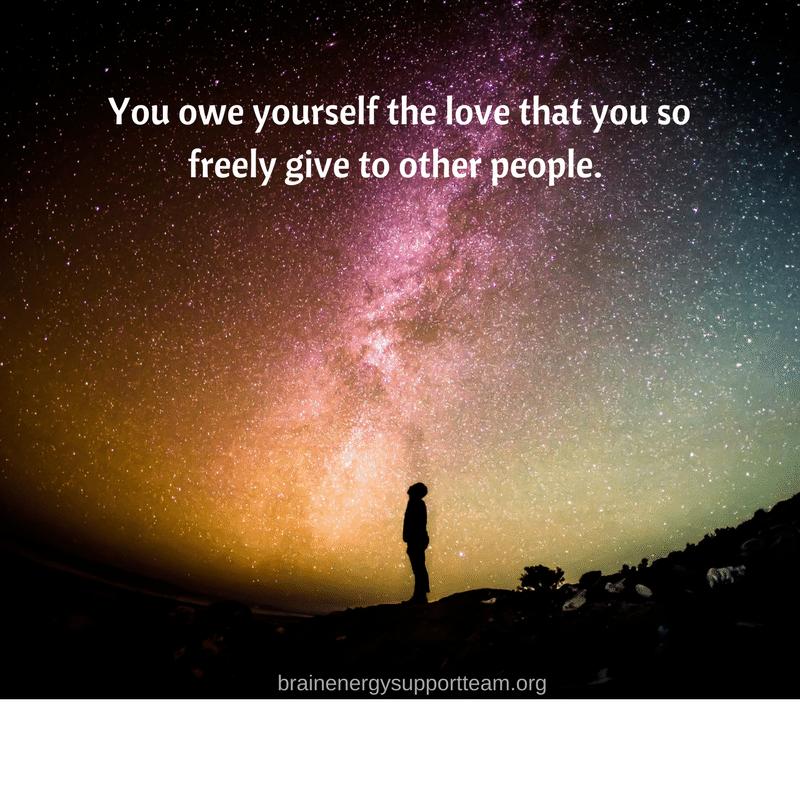 You owe yourself love