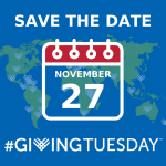 Save the date: Giving Tuesday is November 27, 2018