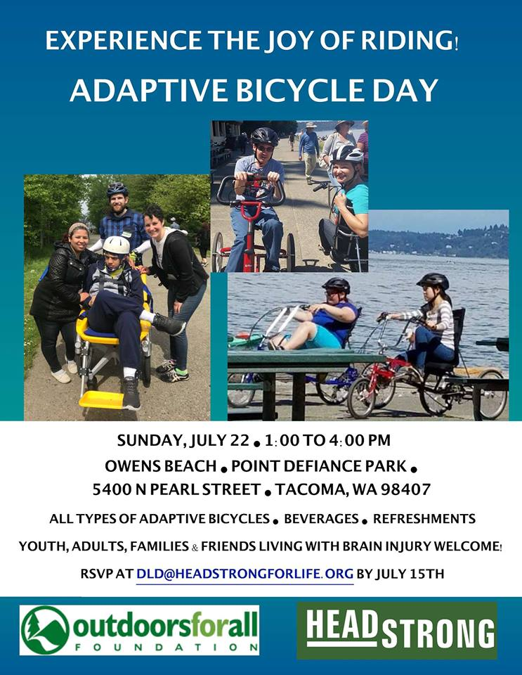 RSVP: Adaptive Bicycling with HeadStrong July 22nd