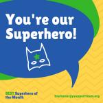 The BEST Superhero of the Month September 2018