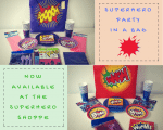 New: Superhero Party in a Bag!