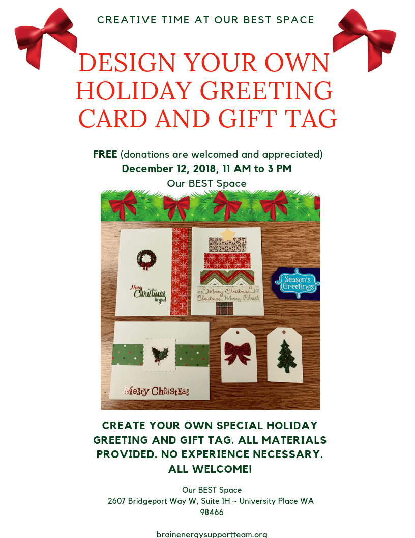 Holiday Creative Time with Diane December 12, 2018