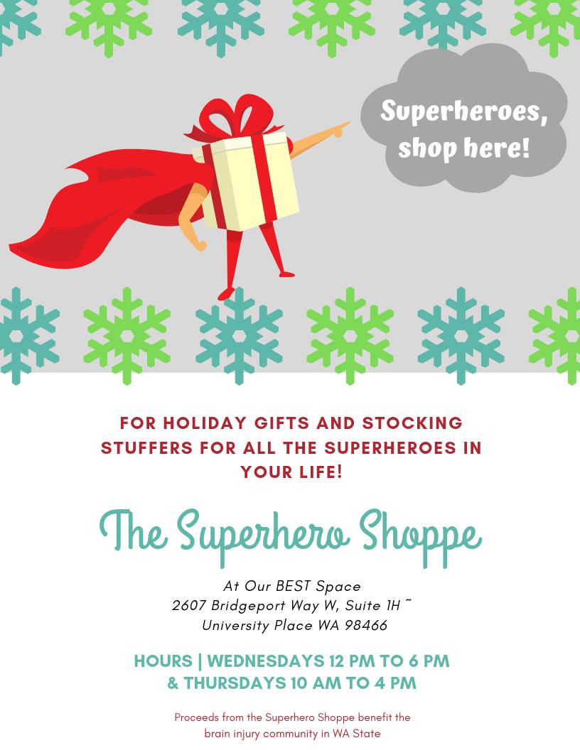 Holiday Shopping: The Superhero Shoppe!