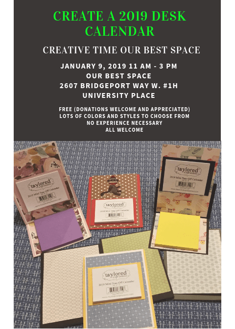 Kick off the New Year with Creative Time!