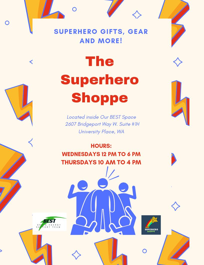 Superheroes Shop Here!