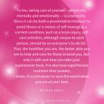 Super Self-Care: Kirsten Short