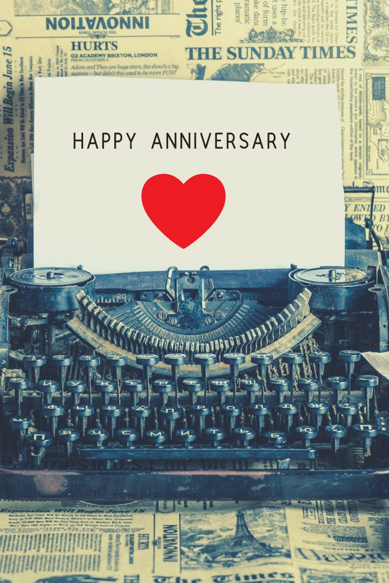 Happy Anniversary to Me: Celebrating Writer Isaac Peterson