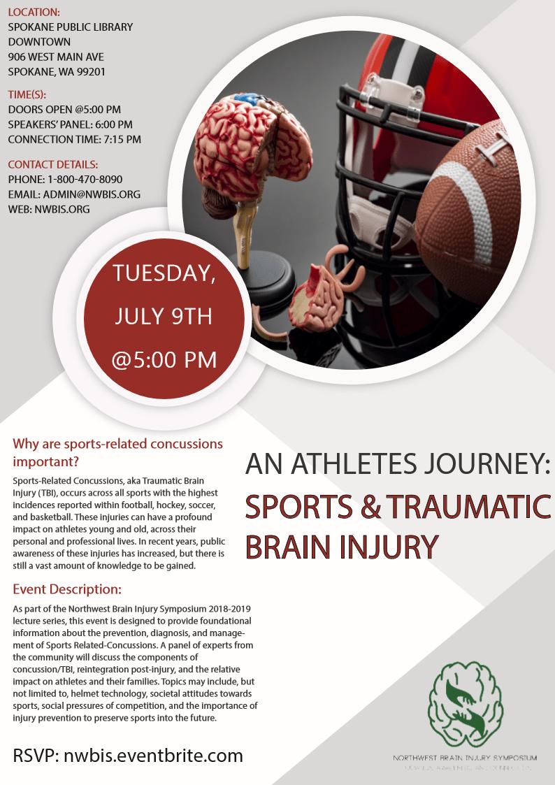 Save the date(Spokane, WA): Sports and TBI