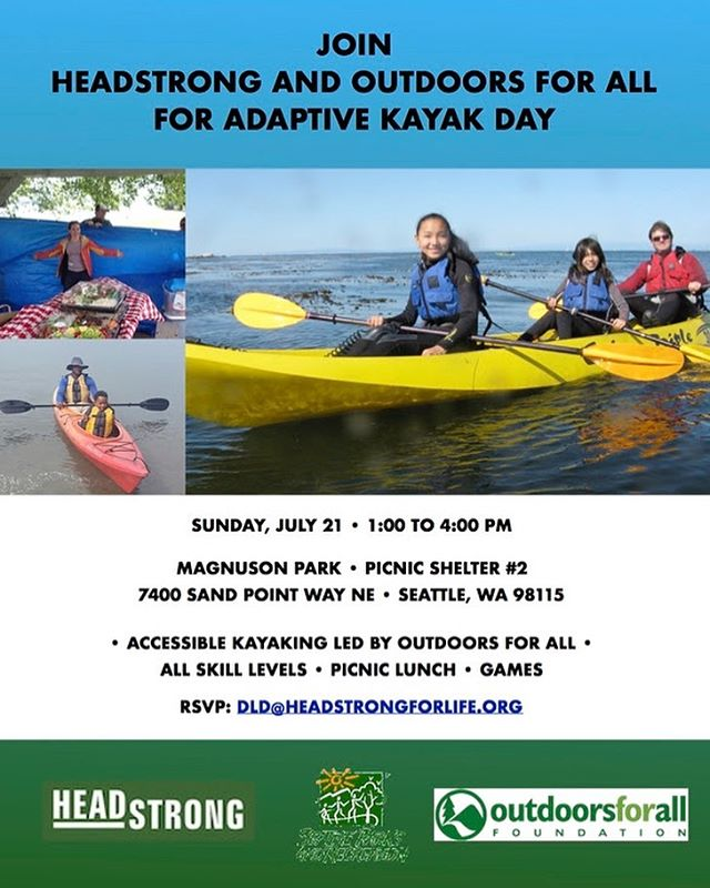 Adaptive Kayaking in Seattle July 21, 2019