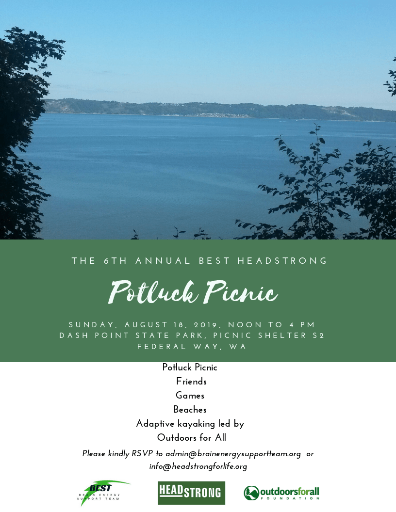 August 18, 2019: Picnic this Summer with BEST and HeadStrong!