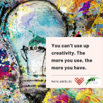 The Art of Empowerment: Creativity