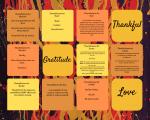 Thankfulness Online Art Collage November 2019