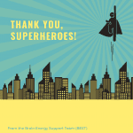 Thank You, Superheroes!