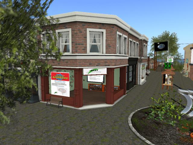 BEST Office Etopia Plaza Second Life