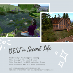 BEST in Second Life: Peer Center Activities and More