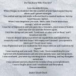 Caregiver Thursday: A Special Poem