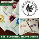 BEST Superhero Shoppe Online: Heartfelt Tidbits of Creativity Cards