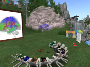 Brodmann Brain Second Life