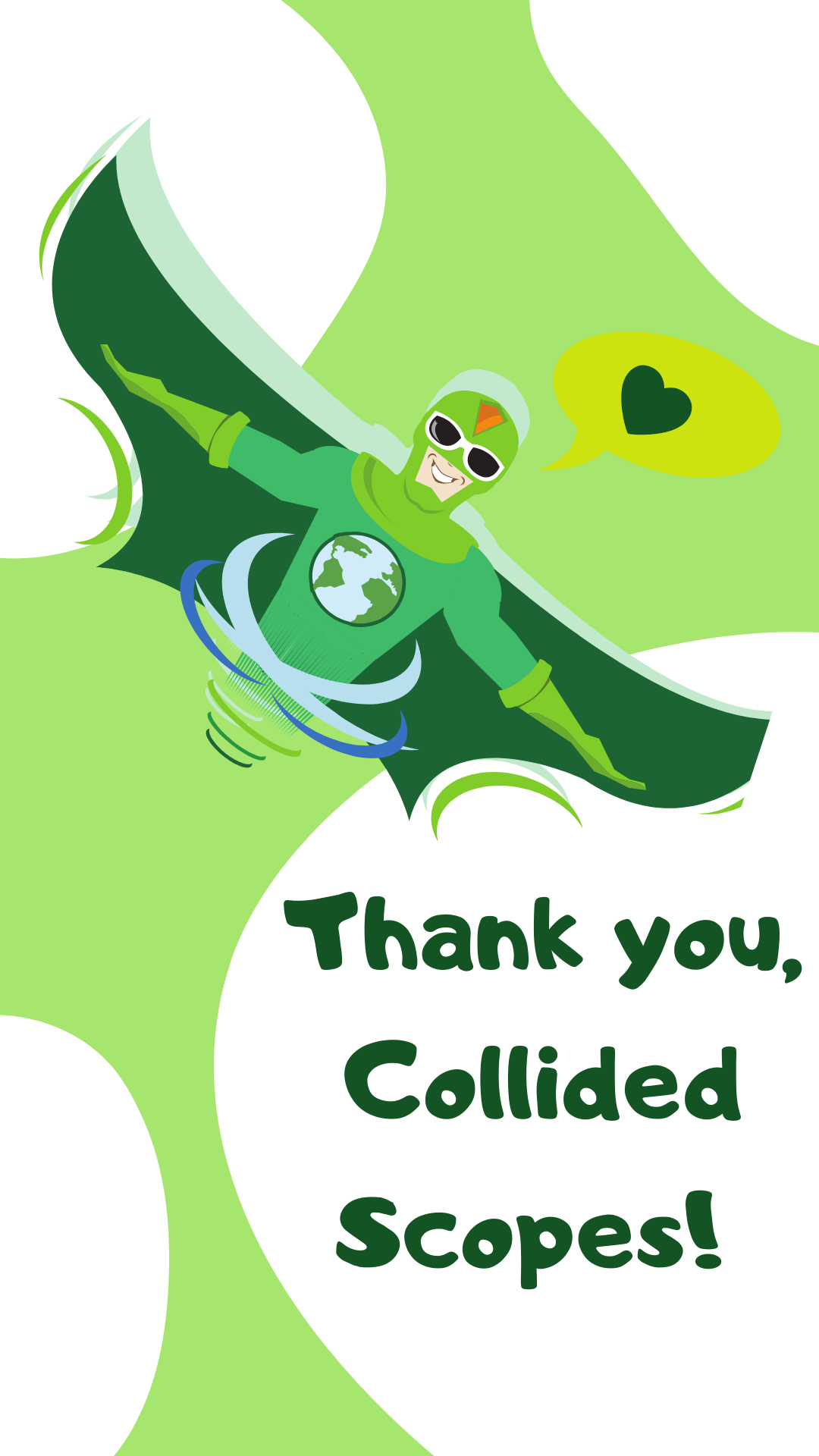 Thank you, Collided Scopes!