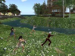 Second Life Tai Chi Serenity Park Etopia