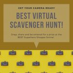 Cameras Ready: BEST Virtual Scavenger Hunt July 29 through August 12, 2020!