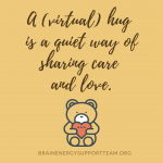 Sending a (virtual) hug