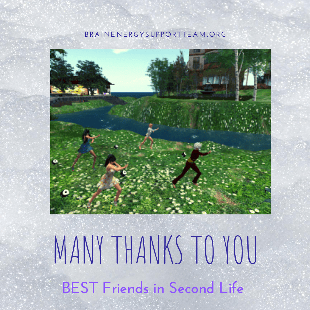 Thankful Thursday: Our BEST Friends in Second Life