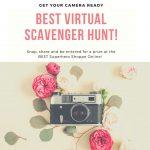 TOMORROW: Week Two of the BEST Virtual Scavenger Hunt!