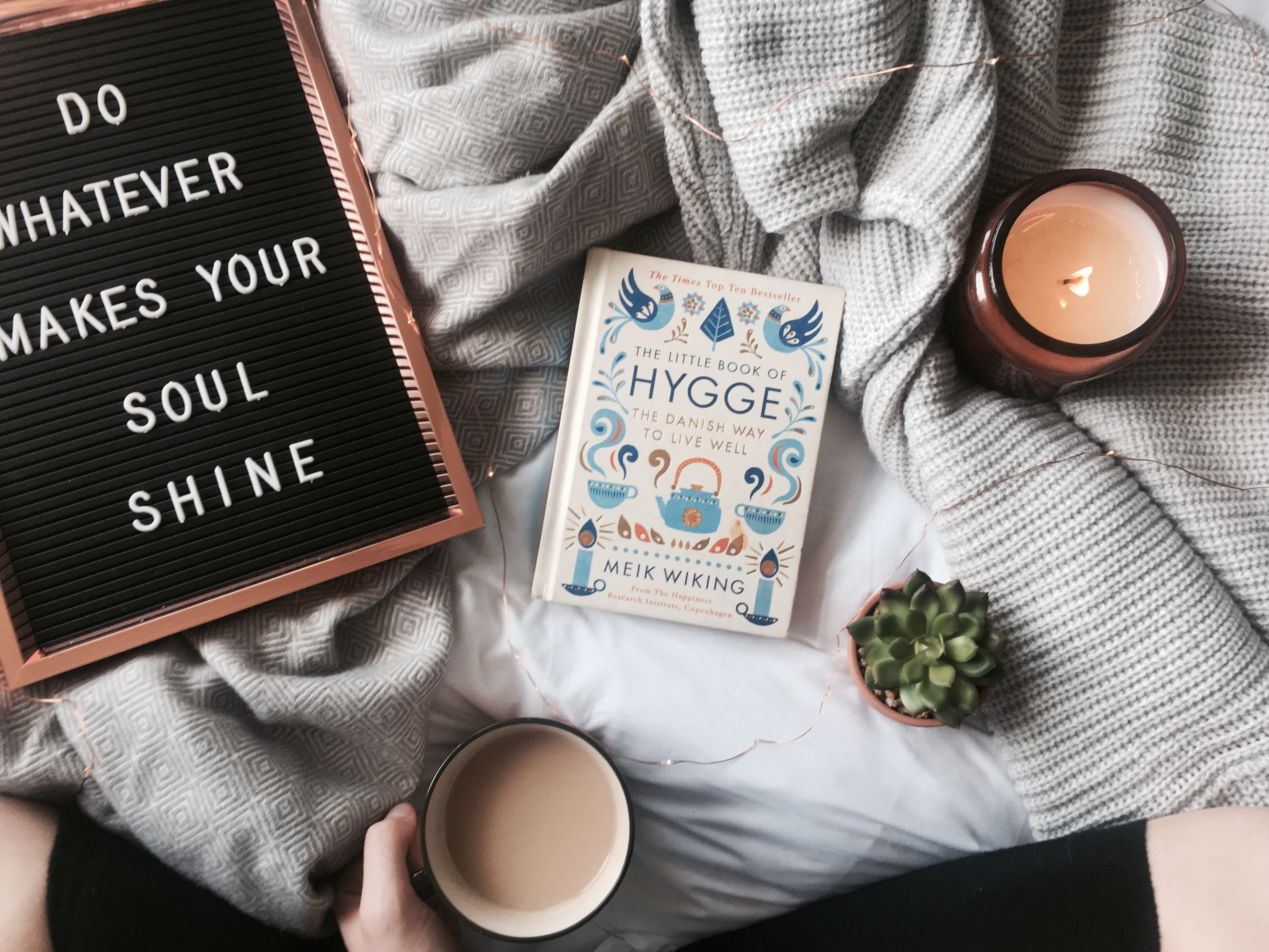 Cozy Self-Care With A Little Hygge