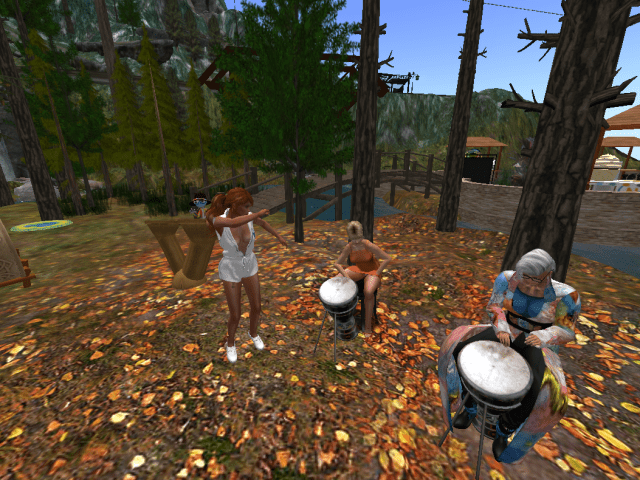 Drumming Circle & Dancing