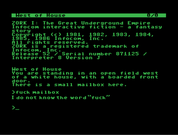 Let's Blow The Dust Off Interactive Fiction